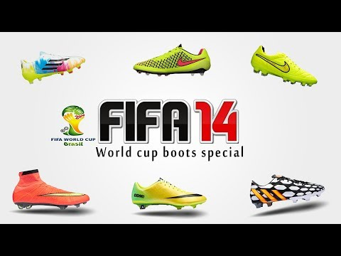 FIFA 14 Moddingway - new World Cup Boots 2014 - Hypervenom. Mercurial and more !