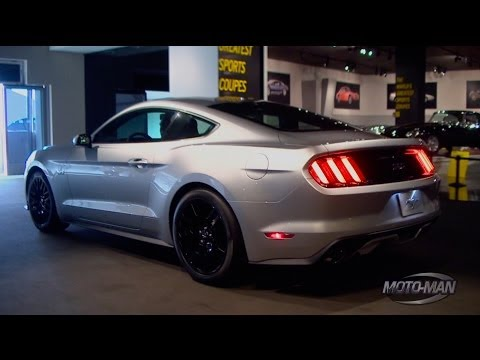 2015 Ford Mustang GT In Depth Walk Around with Steve Ling Ford NA Marketing Manager @ The Petersen