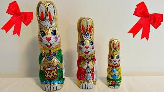 Learn Sizes for Kids with Chocolate Bunny - Learn Colors for Baby - Finger Family Nursery Rhymes