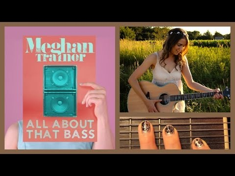 ♥ all About That Bass - Meghan Trainor - Guitar Lesson ♥ video