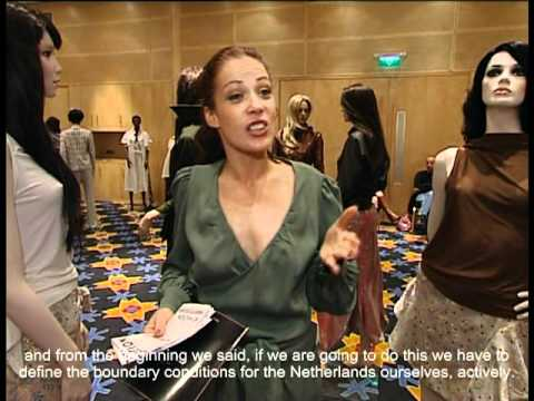 Interview Angelique Westerhof - A Tribute to the Dutch Fashion Foundation (2003)