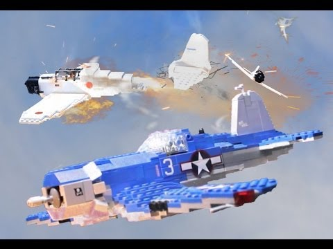 1944 Lego World War Two Pacific Air Battle Youtube