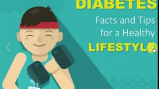 # Diabetes Facts and Tips for a Healthy Lifestyle !!