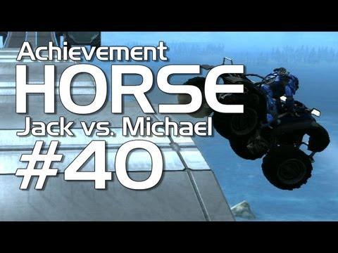 Halo: Reach - Achievement HORSE #40 (Jack vs. Michael)