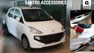 Hyundai Santro Accessories | Modified Hyundai Santro | 2018 Hyundai Santro with prices !!!!