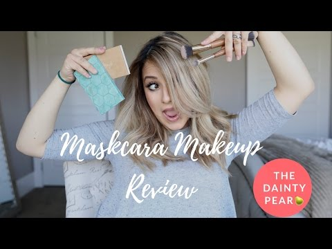 Maskcara Makeup Review    Busy Mom Makeup    Not sponsored    The Dainty Pear