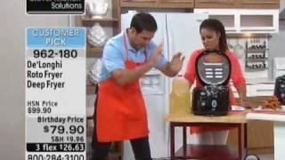 De'Longhi Roto Fryer Deep Fryer