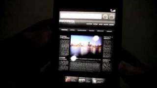 blackberry 9800 slider setup vid