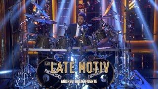 LATE MOTIV - David Broncano. El pachacho drummer | #LateMotiv176