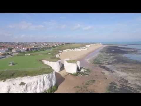 Botany Bay in Broadstairs - Filmed by DJI Drone