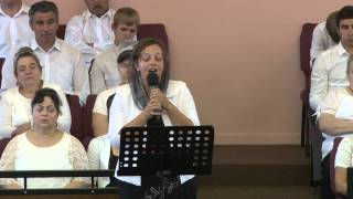 Alona Bespalko Poem & Song - Church Home of God