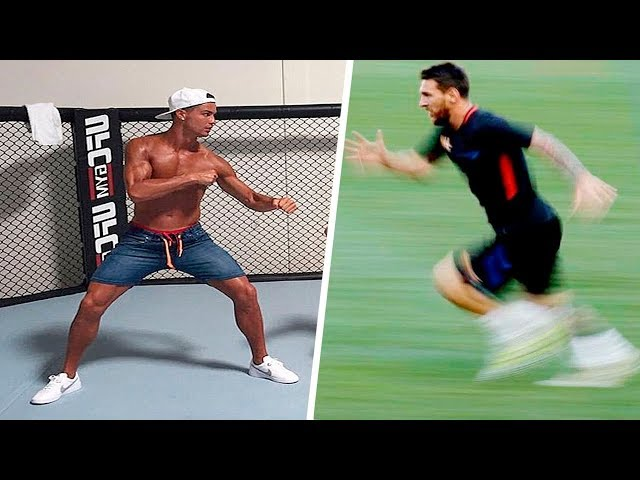 Lionel Messi Vs Cristiano Ronaldo ● Freestyle ● Crazy Tricks