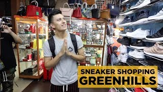 GREENHILLS SNEAKER SHOPPING WITH SNEAKERTALK!