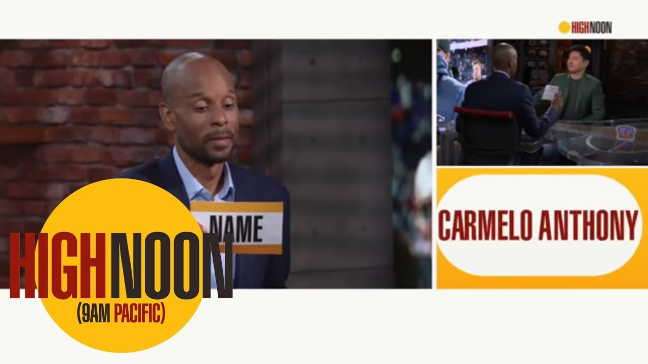 Bomani Jones: Rockets should want Carmelo Anthony, he's their best option | High Noon | ESPN