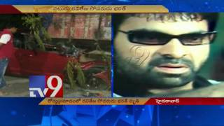 Actor Ravi Teja's brother Bharath dies in road accident