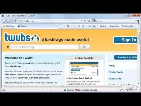 CREAR PÁGINAS WEB - Word 2010
