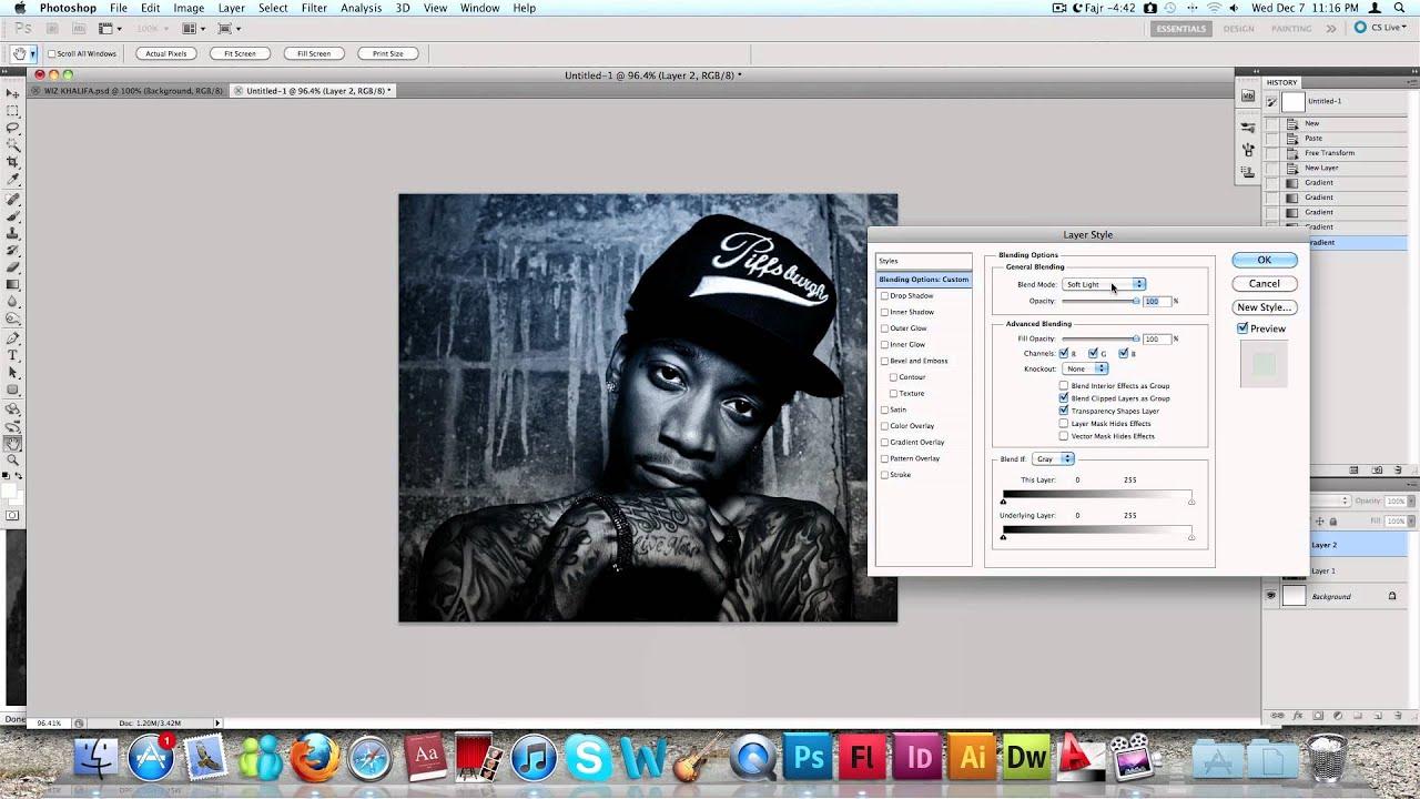 Как сделать обложку в фотошопе cs6