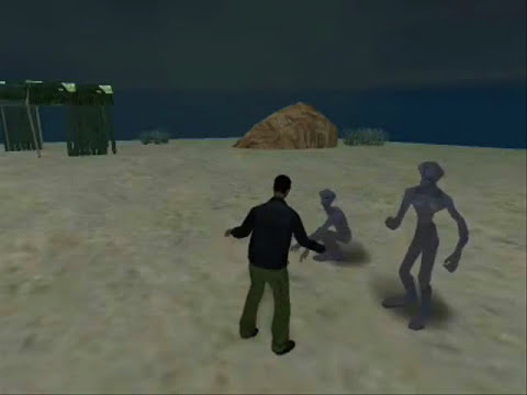 GTA SA - Aliens Found In Desert