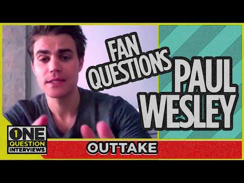 Outtake: Paul Wesley answers fan questions