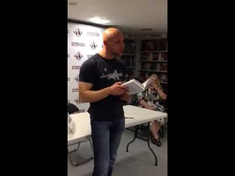 Tom Pollock reading from The City's Son