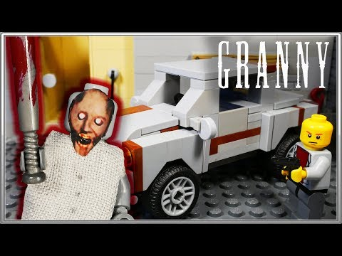 LEGO Мультфильм Granny 2 Конец истории / Horror game Granny 2 / LEGO Stop Motion