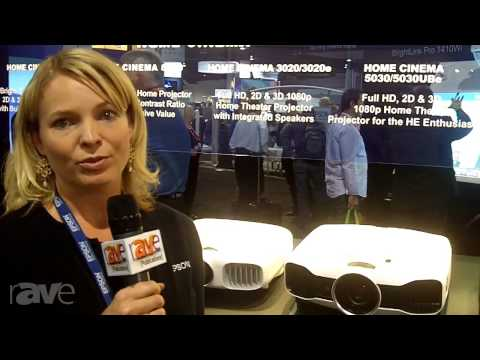 CEDIA 2013: Epson Presents Three New Projectors
