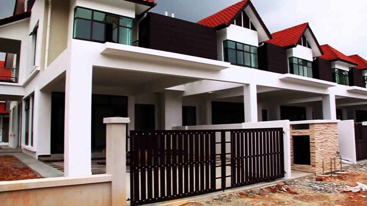 D 39 serambi 2 storey terrace link house johor bahru for Watch terrace house