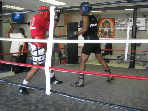 MVI_1931.avi chris lightning Mugisho giving Mzonke Fana sparing for his WBC tittle fight(day 2)