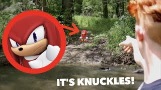 I FOUND KNUCKLES IN REAL LIFE! *Sonic The Hedgehog*