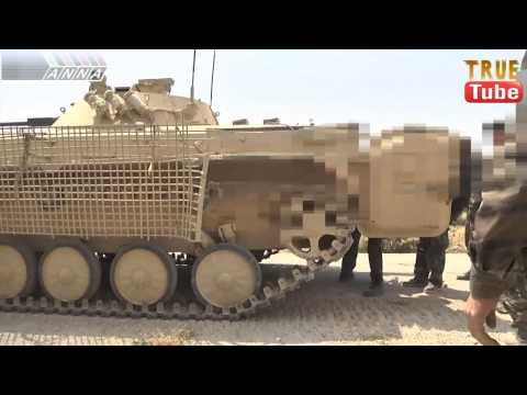 داريا مشاهد حية لاقتحام جنود الجيش السوري مدعومة بالدبابات لاوكار الارهاب -الجزء الاول مترجم للعربية