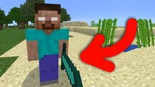 ✔ HEROBRINE in MCPE 0.16.0! - Herobrine Addon Minecraft Pocket Edition [0.16.0+]