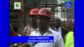 RD CONGO : AEROPORT N'DJILI (21 JUIN 2013)