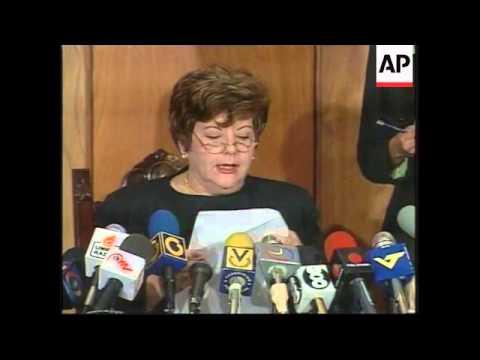 VENEZUELA:  PRESIDENT OF SUPREME COURT RESIGNS