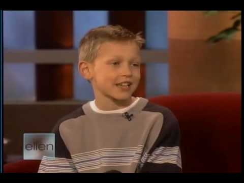 Alec Greven on ELLEN  - Feb 20  2008 Music Videos