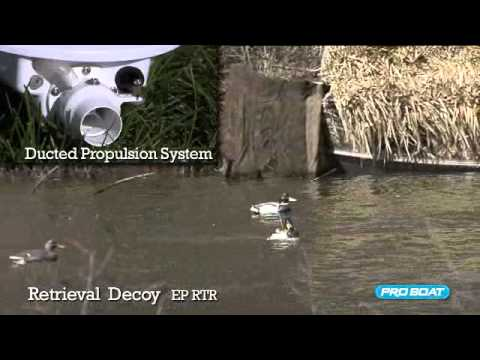 ProBoat Pro Boat Retrieval Decoy 2.4ghz Rc Boat