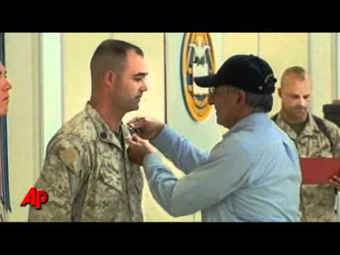 Raw Video: Panetta Visits Troops in Afghanistan