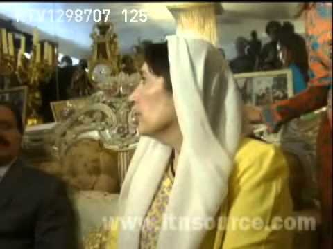 Benazir Bhutto Interview to press that she 'll return soon to Pakistan.