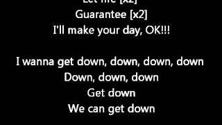 Chris Brown FT Kanye west - Down  (Lyrics on screen) karaoke Exclusive