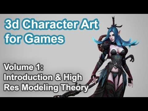 3D Character Art for Games - Vol. 1 - 720P