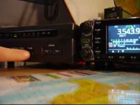 ANTENNA TUNER AT-50 AND ICOM IC-7000