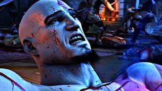 God of War 2 - Zeus Kills Kratos (Zeus Betrayal Cutscene)