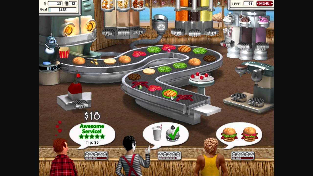 burger shop 2 free online game