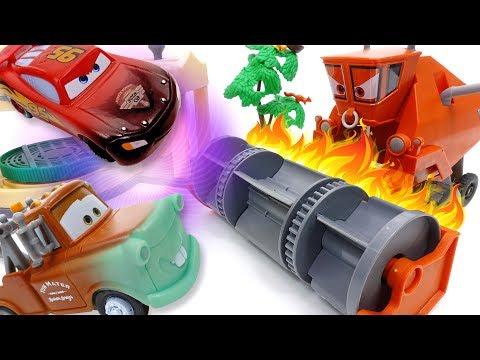 Frank Gone Mad~! Disney Cars Color Changer Toys