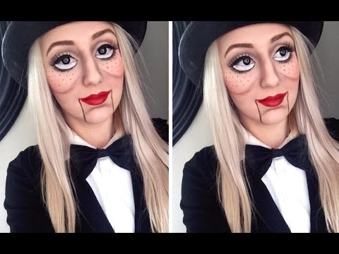 Ventriloquist Doll Makeup
