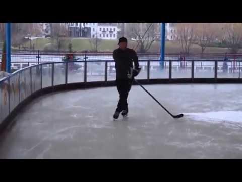 Упражнения на катание для хоккеистов