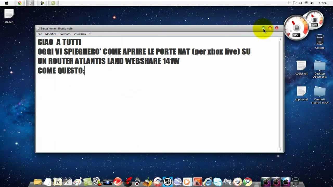 Come aprire porte nat per xbox live con router atlantis for Porte xboxlive