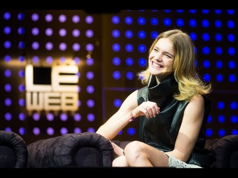 Natalia Vodianova is Interviewed by Loic Le Meur at LeWeb Paris 2012