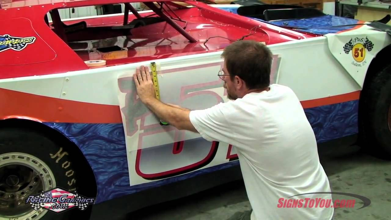How To Install Race Car Graphics Youtube