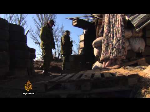 Ukraine military and rebels accused of breaching ceasefire