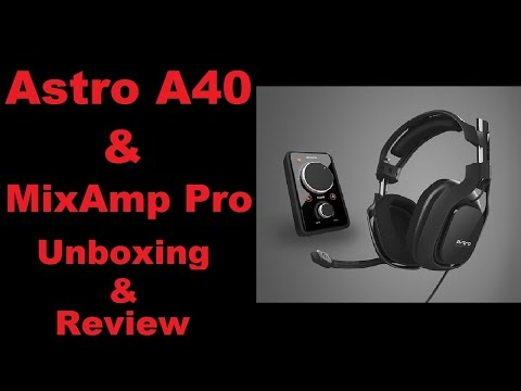 astro a40 mixamp pro manual
